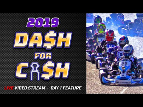 Dash For Cash 2019 - Eastern Goldfields Kart Club - Day 1 Feature Races
