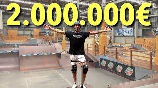 UN SKATEPARK À 2 MILLIONS D'EUROS !!
