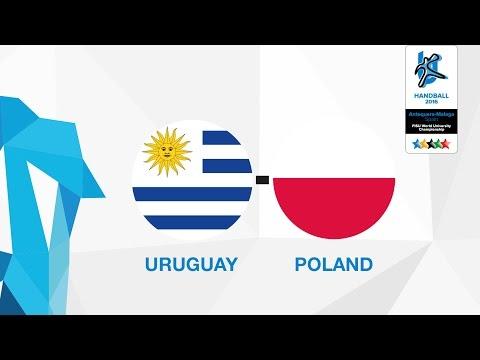 Uruguay - Poland (W5), Group Z Females - WUC Handball 2016