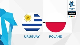 Uruguay - Poland (W5), Group Z Females - WUC Handball 2016