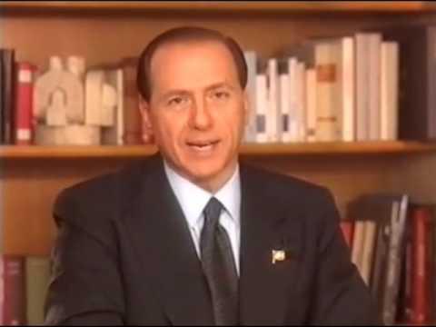 Forza Italia 1994 - Silvio Berlusconi