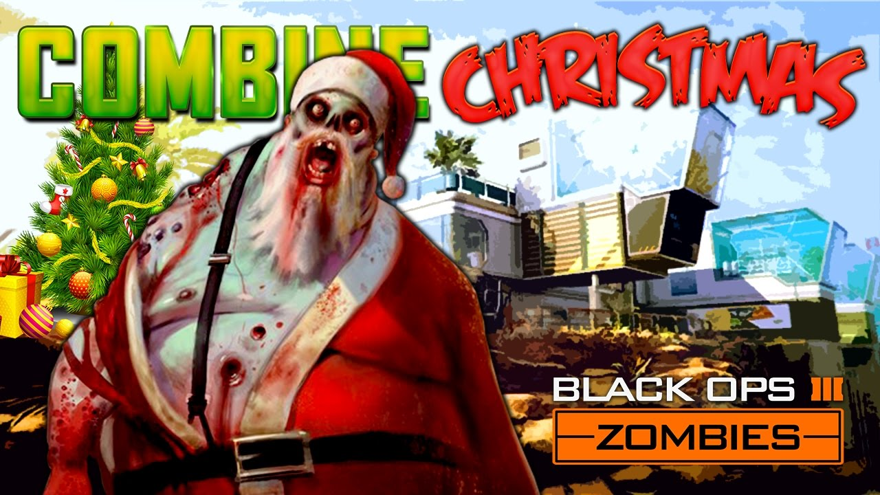 COMBINE CHRISTMAS ZOMBIES (Black Ops 3 Zombies Mod)