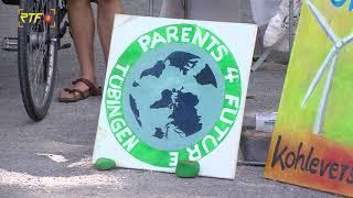 Klimafest - Parents for Future informieren in Tübingen