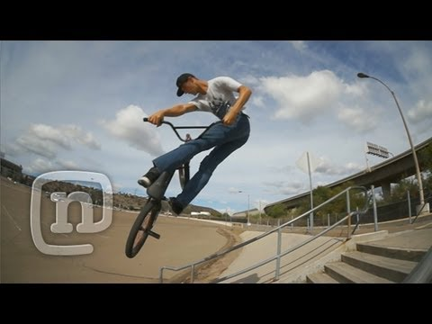 Mitch McKelvey Tears Up San Diego: Crooked world BMX