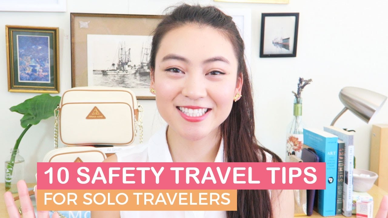 how to stay safe while traveling alone
