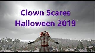 CLOWNS Scaring Streamers! PUBG Jumpscares Pt.4! HALLOWEEN 2019