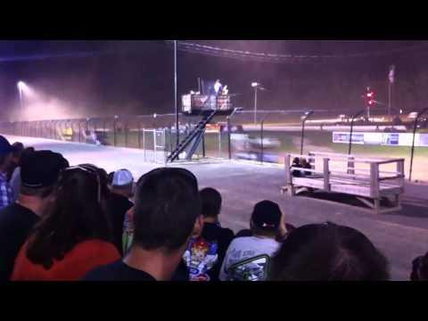WoO Sprints green flag @ Rolling Wheels Raceway