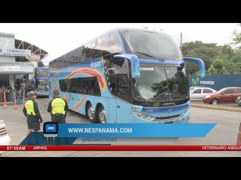 Muere hombre dentro de un bus Panamá David, en Chiriquí