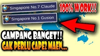 Cara Mendapatkan Title di Mobile Legends - 100% Work !!