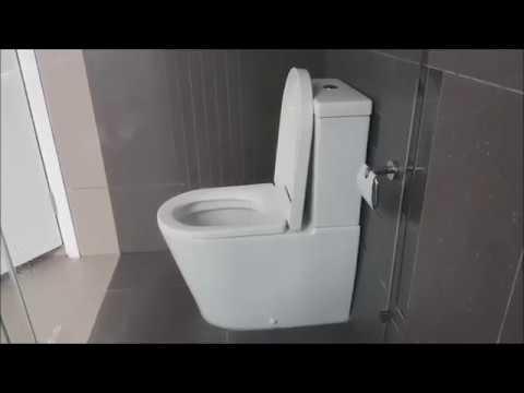 DIY   How To Repair Johnson Suisse Water Closet (Toilet Bowl)