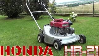 • Honda HR-21 : Test du variateur de vitesse, et redémarrage moteur.