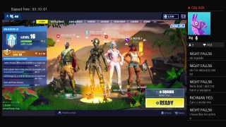 Ninja, Typical Gamer, Tfue, and Nick eh 30.  Fortnite/Apex gameplay.  Fortnite season 8
