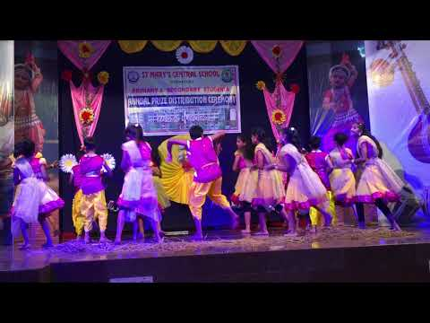 Folk Dance by St Marys Central School students