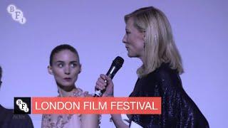 Carol Onstage Intro - American Express® Gala | BFI London Film Festival