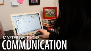 Image for vimeo videos on Master Decisions: Professional Communication