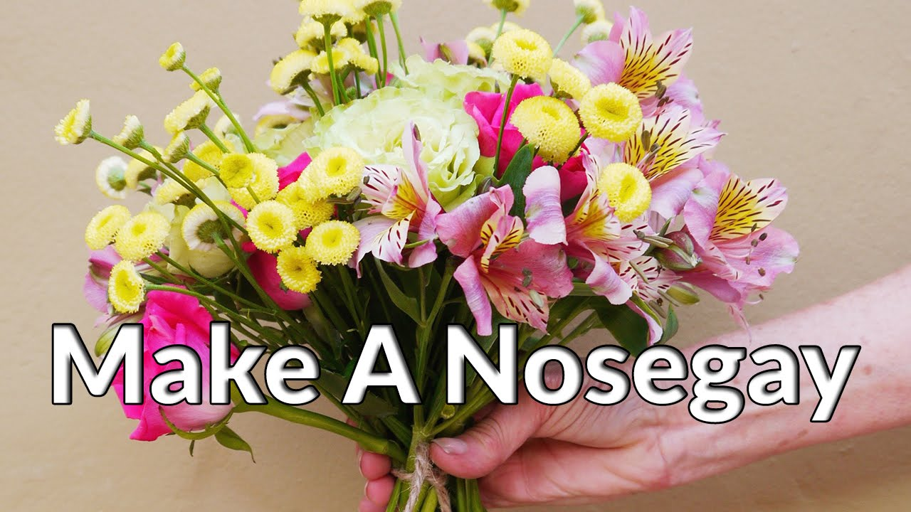 how to make a nose gay