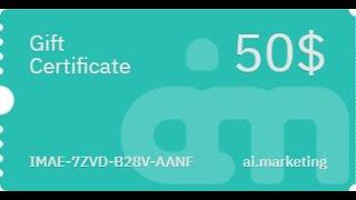 Ai marketing   Quick Singup and get free gift 50$ Medium (360p)