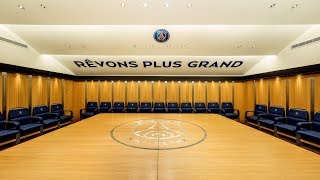 Ligue 1 dressing rooms