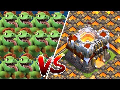 100 BABYDRACHEN vs. RATHAUS 11! || CLASH OF CLANS || Let's Play CoC [Deutsch/German]