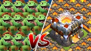 100 BABYDRACHEN vs. RATHAUS 11! || CLASH OF CLANS || Let's Play CoC [Deutsch/German]
