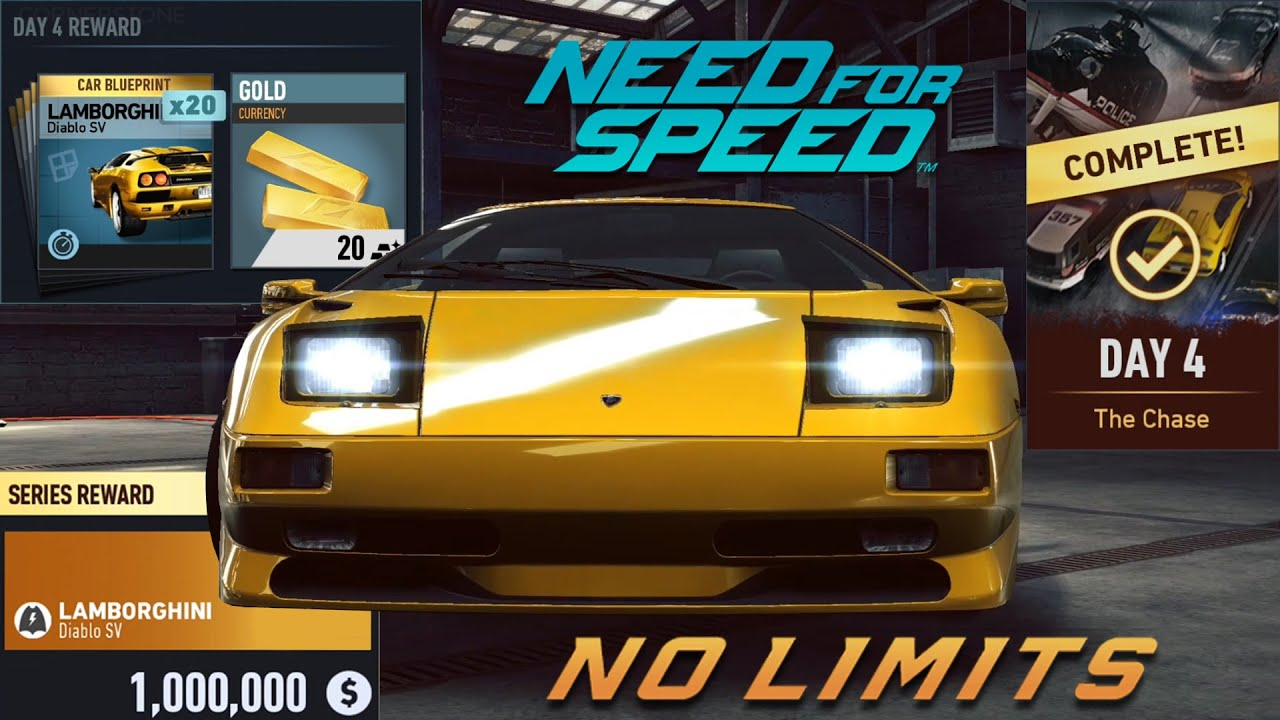 need for speed no limits devils run day 4 the chase lamborghini