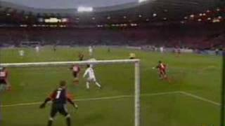 Zidane-Goal in Eurocup final Real Madrid-Bayer Leverkusen