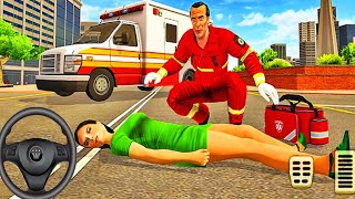 Ambulance Rescue Van Driver Simulator - City Emergency Rescues Van Drive 3D - Android Gameplay #1
