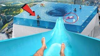 क्या आप इन स्विमिंग पूल में गोता लगा सकते है this pool will give you nightmares ! Dangerous pools