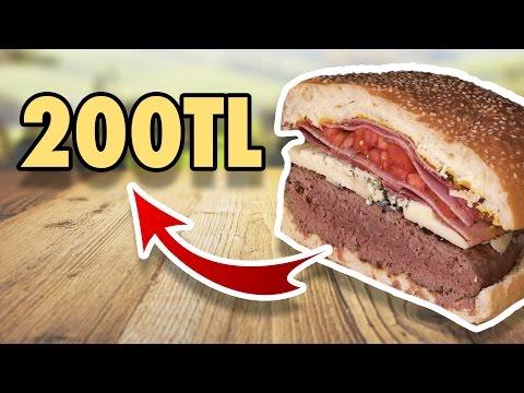 200 Liralık Hamburger Yaptık - Tadı Nasıl Oldu?