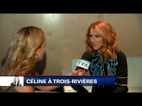 Celine Dion - TVA Nouvelles (Quebec TV Interview In French, August/Août 30 2016)