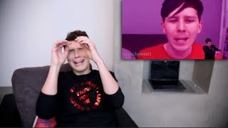 dan reacting to the lady door song by crunchytoast1EDITS