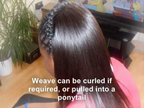 Partial sew in Weave Tutorial with Diagonal braiding  YouTube