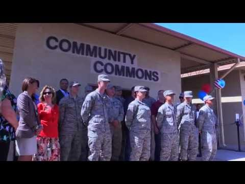 New Community Commons Opens on Nellis AFB