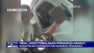 Viral Video Angkot Dipalak di Depok, 2 Tersangka Dibekuk