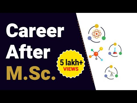 5 Bright Career Options After MSc in India - YouTube