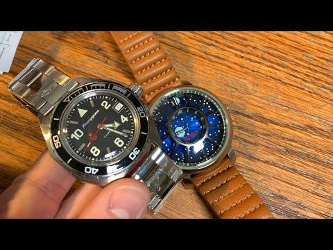 Double Watch Unboxing! - Xeric Apollo 11 - Vostok Komandirskie