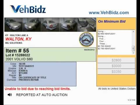 Possibilities of the car auction in Walton KY