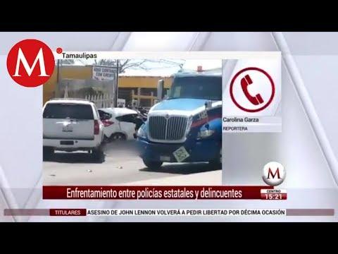 Atacan a balazos a policías en Reynosa; mueren 2 delincuentes