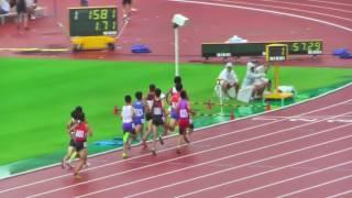 H29年度 学校総合 埼玉県大会 中学男子800m予選3組 thumbnail
