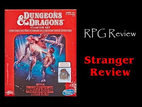 Dungeons & Dragons/ Stranger Things Unboxing & Review