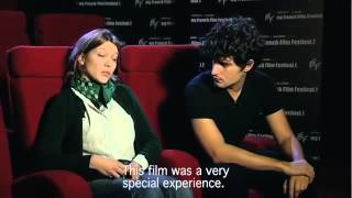 My french film festival 2012   Interview Louis Garrel & Léa Seydoux