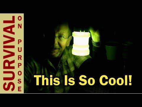 TREKK Solar Lantern - Rechargeable LED Camping Lantern - Gift Ideas 2016