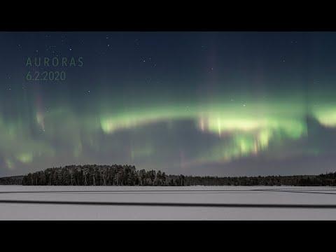 Auroras 6.2.2020 (4K TIMELAPSE)