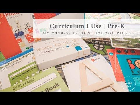 Pre K Curriculum I Use My 2018 2019 Homeschool Picks Youtube