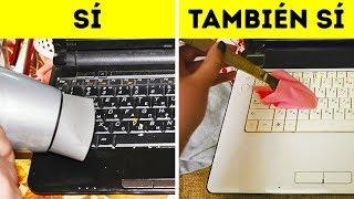 10 Maneras simples de eliminar la suciedad de tu computadora