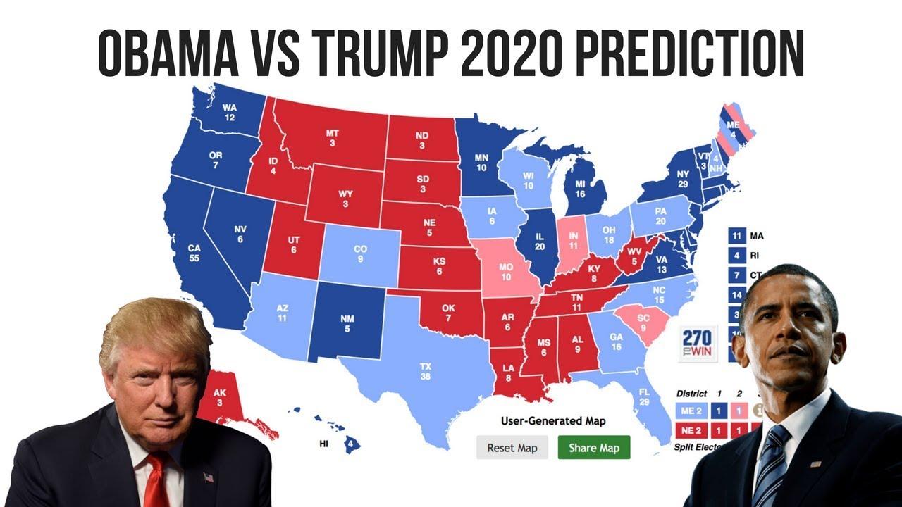 obama  trump  election prediction  great comeback youtube