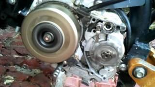 Démarrage moteur dirt bike 125 Lifan après des années d'abandon...