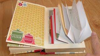 Junk Journal - Altered Recipe Book