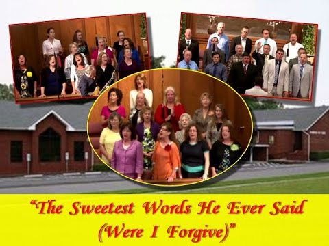 """""""THE SWEETEST WORDS HE EVER SAID (Were I Forgive)"""" ~ Dallas NC Church of God (7-6-2014p)"""