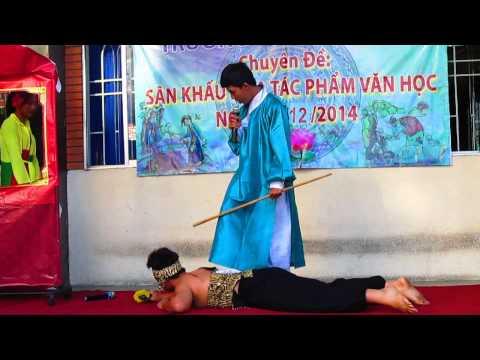 Sân khấu hóa tp văn học - Lục Vân Tiên cứu Kiều Nguyệt Nga 9a3